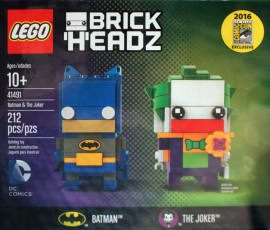 LEGO 41491 蝙蝠侠和小丑