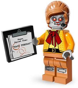 LEGO 71004-11 秘书