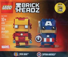 LEGO 41492 钢铁侠与美国队长