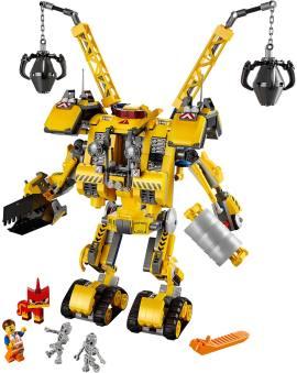 LEGO 70814 埃米特的工程机