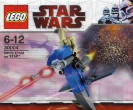 LEGO 30004 战斗机器人的单兵飞行器