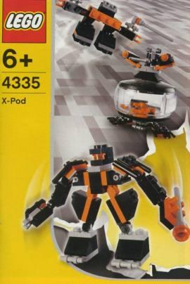 LEGO 4335 黑金刚