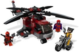 LEGO 6866 金刚狼 VS 万磁王