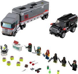 LEGO 79116 雪地追逐战