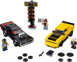 LEGO 75893 2018 Dodge Challenger SRT Demon和1970 Dodge Charger R/T赛车