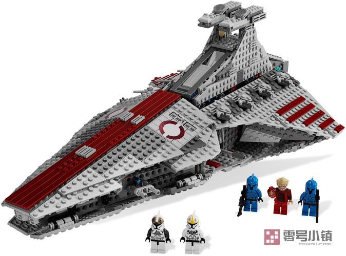 星球战机王玩具_8039:猎兵级共和国攻击巡洋舰 | 零号小镇 - 乐高积木社区