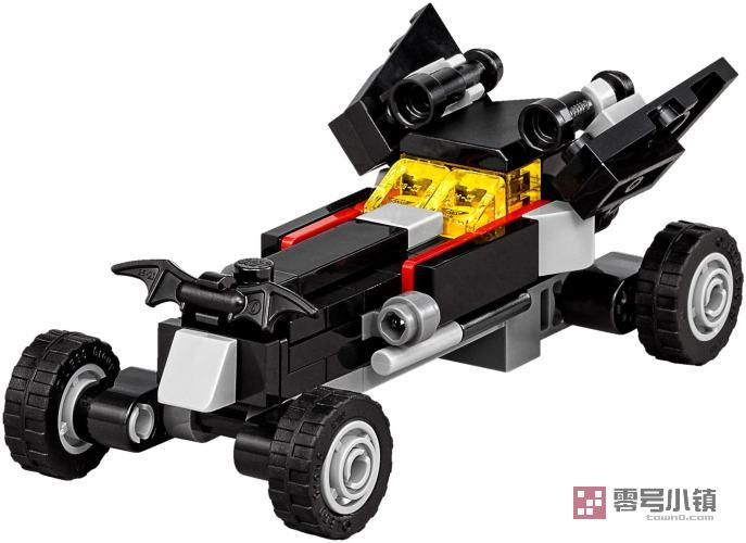 星球战机王玩具_30521:迷你蝙蝠车 | 零号小镇 - 乐高积木社区