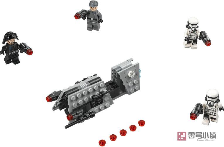 星球战机王玩具_75207:帝国巡逻舰战斗包 | 零号小镇 - 乐高积木社区